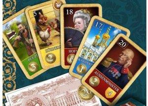 Fünf unterschiedliche Karten für die fünf verschiedenen Phasen des neuen St. Petersburg