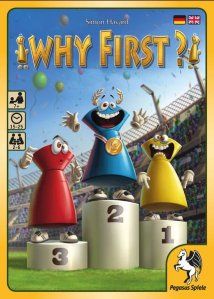 In Why First? von Pegasus Spiele bringt der zweite Platz die Punkte