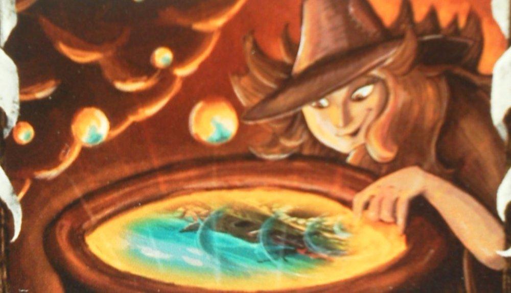 Einen Blick in die Zukunft gefällig? Wohl dem, der weiß was kommt. So ist die Dominion-Vision besonders stark.