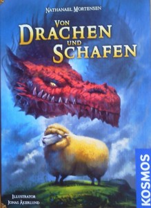 Das Spiel Von Drachen und Schafen ist bei Kosmos erschienen und kostet etwa 10 Euro