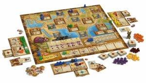Auf den Spuren von Marco Polo ist für 2 bis 4 Spieler geeignet