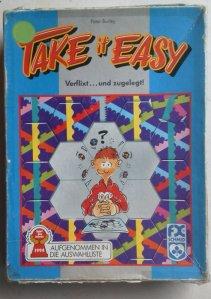 Das Take-It-Easy-Original von 1994 hat die harte Selektion im Spieleschrank fast unbeschadet überstanden