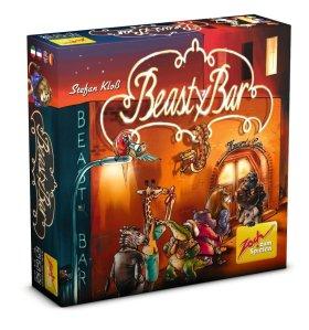 Beasty Bar eignet sich für 2 bis 4 Spieler ab 8 Jahren