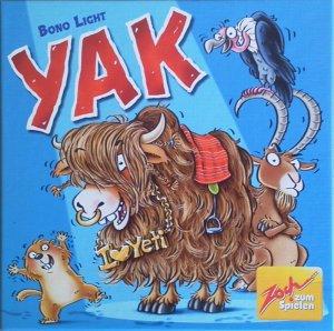Yak ist ein völlig unkalkulierbares Bluffspiel