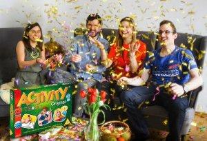 Das Partyspiel Activity feiert 25. Geburtstag. Auf der Spiel'15 gibt es drei Parties im Wert von 250 Euro zu gewinnen