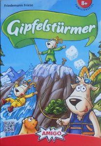 Gipfelstürmer von Friedemann Friese ist kindgerecht gestaltet und macht auch Erwachsenen Spaß