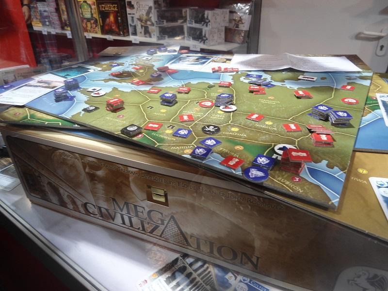 15 kg pures Spiel für bis zu 18 Spieler - Mega Civilization