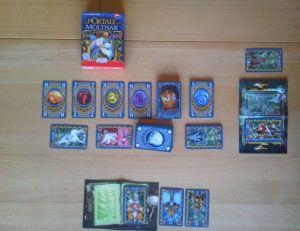 Jeder Spieler besitzt bei Die Portale von Molthar ein Portal, über das er die Figuren in das Reich von Molthar schicken kann