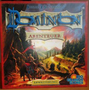 Die Dominion-Erweiterung Abenteuer bringt gleich mehrere neue Spielelemente