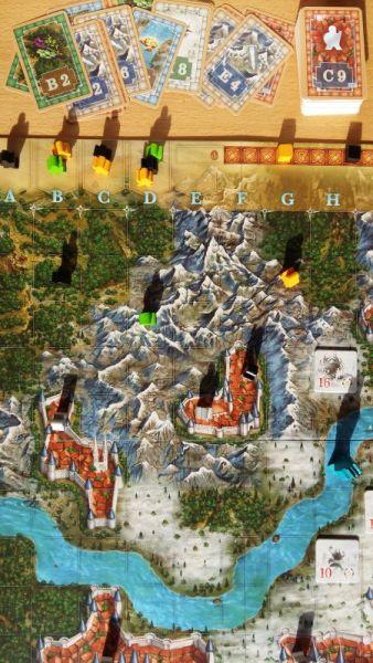 Die grafische Gestaltung von Abenteuerland ist Franz Vohwinkel sehr schön gelungen