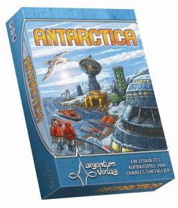 Die grafische Gestaltung von Antarctica hat Dennis Lohausen übernommen. Sie ist recht funktional, sodass das Spiel übersichtlich bleibt
