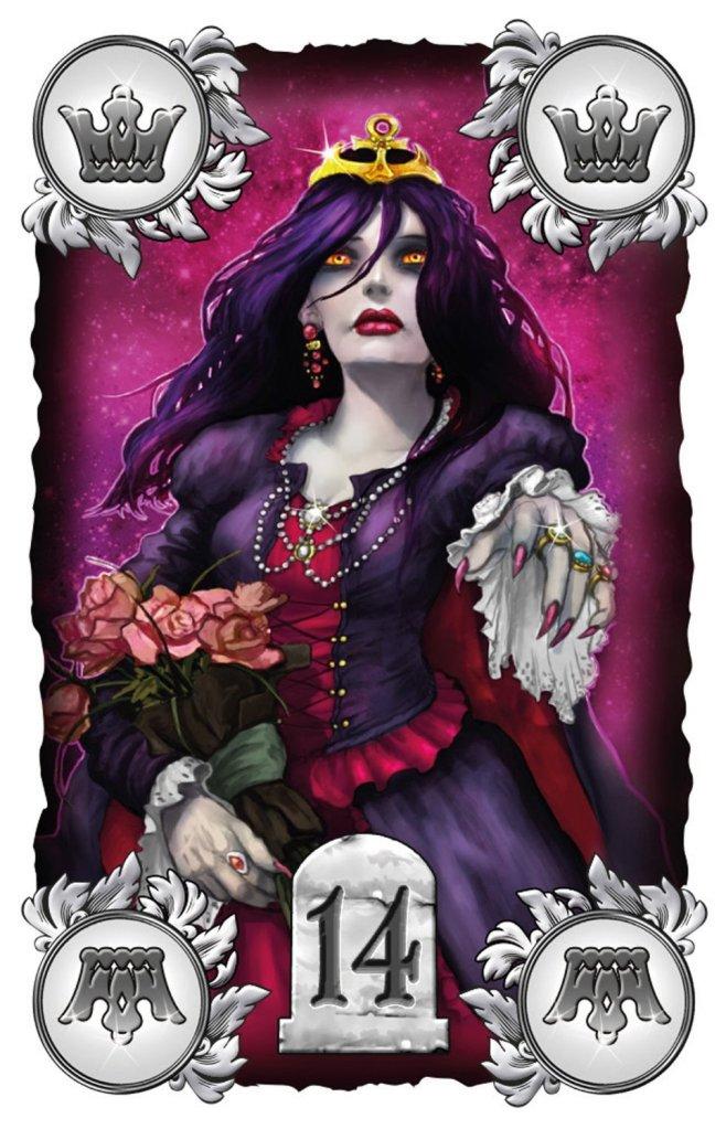 Die namensgebende Vampire Queen ist der Joker im