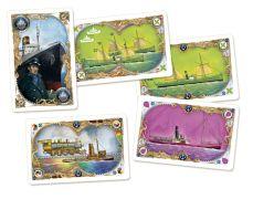 Schiffskarten ergänzen den Kartensatz