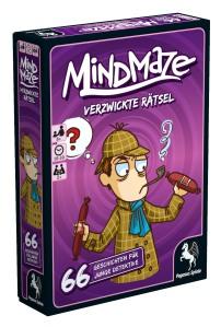 In der Mind-Maze-Reihe gibt es jetzt auch verzwickte Geschichten für junge Detektive
