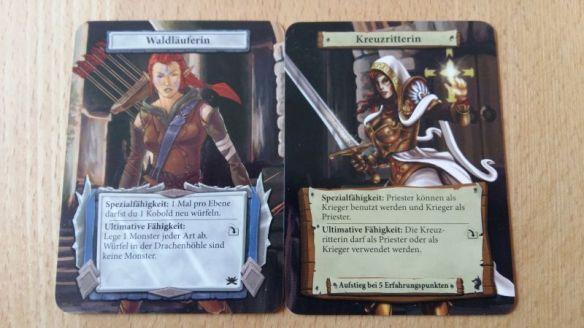 Jeder Spieler besitzt in Dungeon Roll einen Charakter, den man mit Erfahrungspunkten upgraden kann