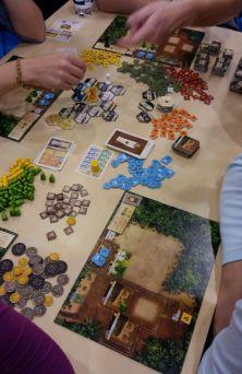 Neu bei Lookout gab es auch das Spiel Die Kolonisten