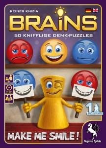Make Me Smile aus der Brains-Reihe von Pegasus Spiele bringt 50 neue Rätsel