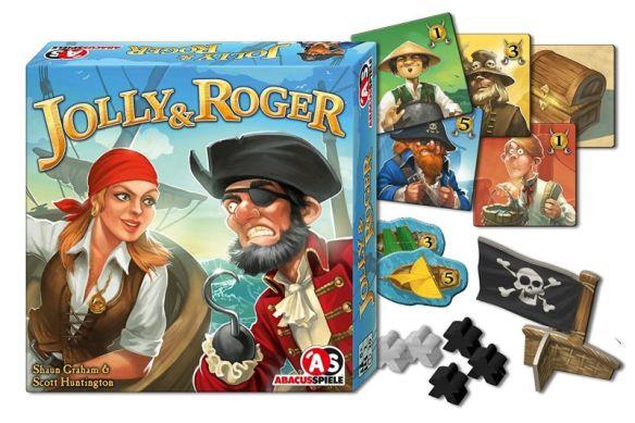 Jolly & Roger von Shaun Graham und Scott Huntington ist ein nettes Zweierspiel