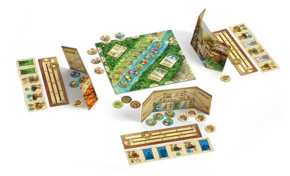 Yangtze von Reiner Knizia ist ein klassisches Handelsspiel mit einer strategischen Komponente
