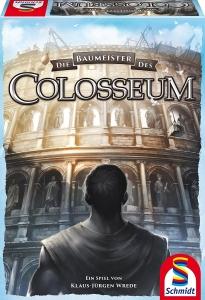 Die Baumeister des Colosseums von Klaus-Jürgen Wrede ist bei Schmidt Spiele erschienen und kostet 24 Euro