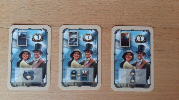 Spielendekarten bringen am Ende Siegpunkte für gesammelte Aktionskarten