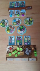 Typische Spielsituation bei Sail Away