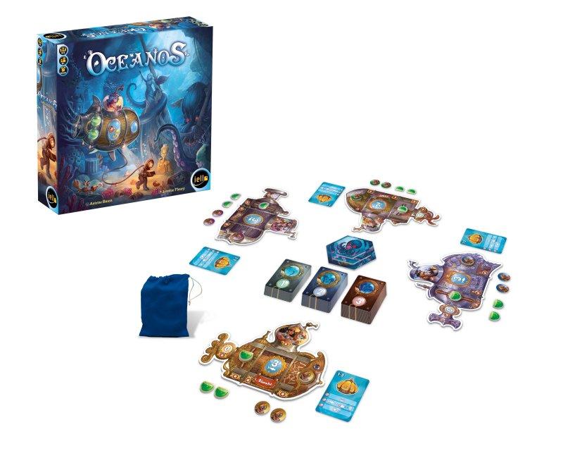 Startaufstellung von Oceanos für vier Spieler