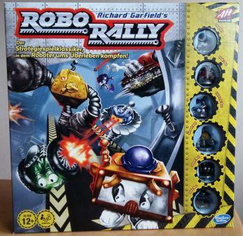 Robo Rally ist bei Hasbro erschienen und kostet 32 Euro