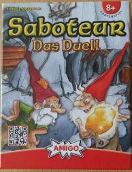Saboteur - Das Duell ist ein Spiel für zwei Spieler, die nicht so schnell beleidigt sind