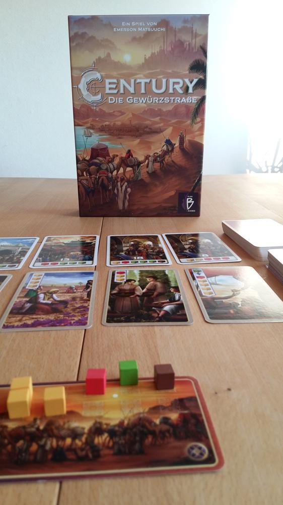 Century- Die Gewürzstraße ist ein einfaches Entwicklungsspiel, dass aber auch bei mehrmaligem Spielen spannend bleibt