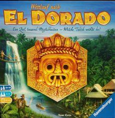 El Dorado ist ein klassisches Rennspiel, dem Reiner Knizia eine Gehirnschmalzkomponente verpasst hat