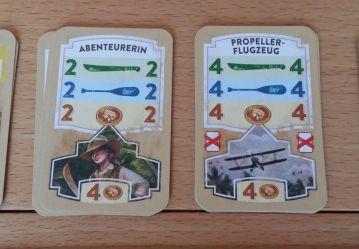 Jokerkarten - permanent oder als Einmalkarte (links) - erhöhen die Flexibilität