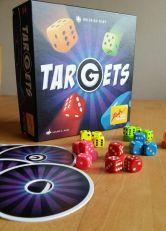 Targets von Wilfried Fort ist ein lustiges Schnippspiel für bis zu 6 Spieler