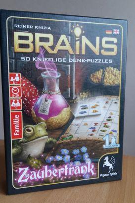 Das Brains-Spiel Zaubertrank bietet 50 knifflige Rätsel in verschiedenen Schwierigkeitsstufen