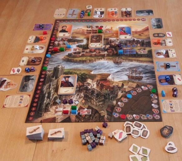 Das Fundament der Ewigkeit im Überblick als 3-Spieler-Version