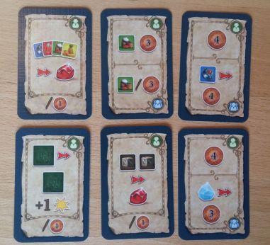 Die Basarkarten sind ein zentraler Bestandteil des Würfelspiels, die kostenlos große Vorteile bieten