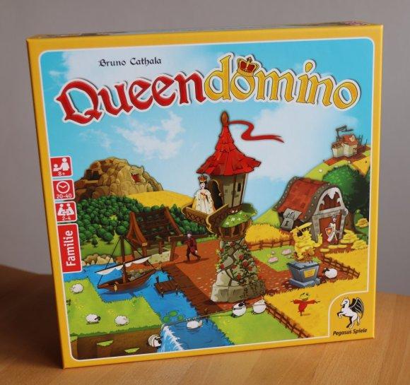 Queendomino eignet sich für 2-4 Spieler