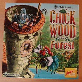 Chickwood Forest ist für 2-5 Spieler geeignet