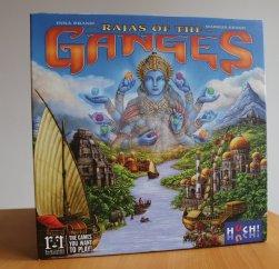 Rajas of the Ganges ist ein gutes Spiel für 2 bis 4 Akteure