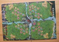 Jeder Spieler entwickelt seinen Quadranten von Queensdale