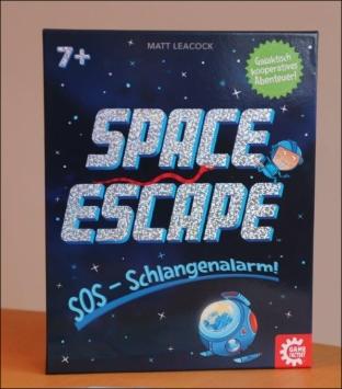 Space Escape ist für Spieler ab 7 Jahren geeignet